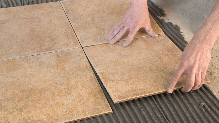 How to use a laser level for laying floor tile