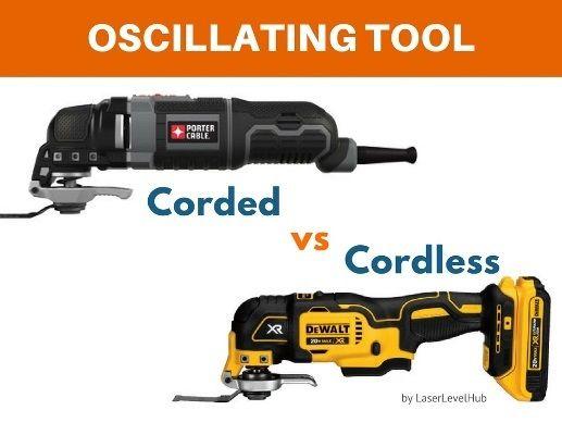 Corded vs Cordless Oscillating Tools